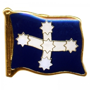 Eureka Flag Pin - Visit Merchandise