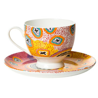 Tea Cup and Saucer - Ruth Stewart