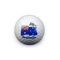 Australia Flag Golf Ball