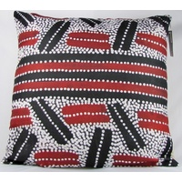 Aboriginal Art Cushion Cover - Lindsay Bird