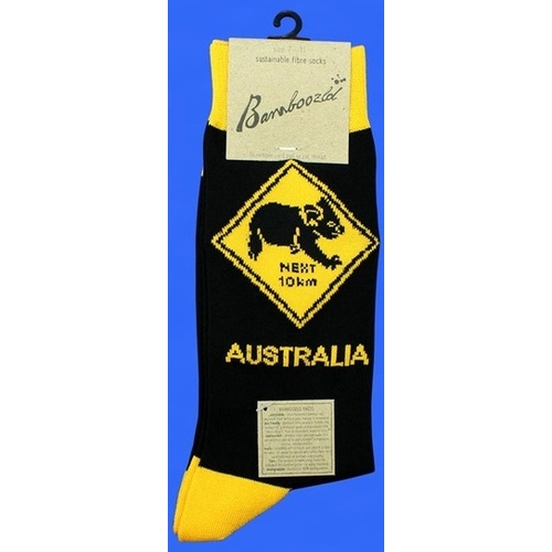 Koala Road Sign Socks